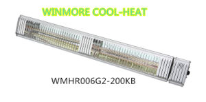 Durable Waterproof Electric Infrared Heater in Commercial Streets pictures & photos