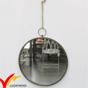 Antique Vintage Round Handmade Metal Wall Mirror for Home Decoration pictures & photos