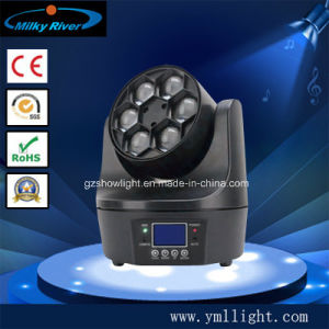 6PCS 10W RGBW 4in1 Small Bee LED Moving Head Light pictures & photos