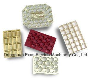 Intelligent High Speed Automatic Plastic Chocolate Cavity, Chocolate Lid/ Cover Forming Making Machine pictures & photos