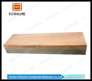Copper+Stainless Steel Clad Plate with Explosion Bonded Technology pictures & photos