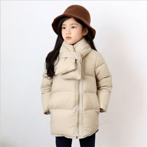 C1281high Quality Coat Kids Girl Cotton Padded Jacket pictures & photos