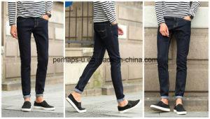 Korean Style Men′s Fashion Stretch Jeans pictures & photos