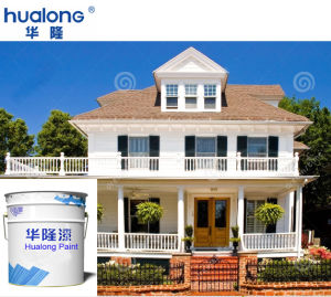 Hualong Decorative Color Exterior Wall Paint pictures & photos