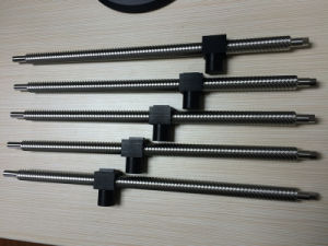 High Speed Multi Starts Trapezoidal Thread Lead Screw with Plastic Nut pictures & photos