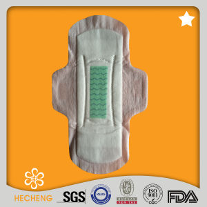 High Grade Disposable Anion Sanitary Napkin with OEM Brand pictures & photos