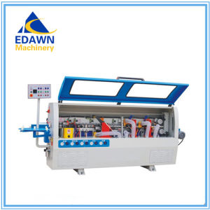 Mf360A Model Fully-Automatic Linear Edge Banding Machine with Plywood Case Packing pictures & photos