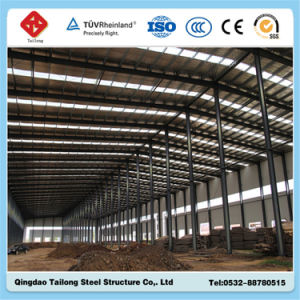 Made in China Prefabricated Steel Frame Structure Workshop pictures & photos