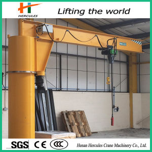 360 Degree Small Column Floor Mounted Jib Crane pictures & photos