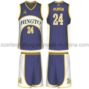 2015 Cheap Custom Basketball Jersey Design (ELTLJJ-96) pictures & photos
