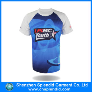 Custom Sports Wear Men Fashion Printed Sublimation T-Shirt