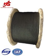 Ungalvanized Steel Cable 6X19 with Little Grease pictures & photos