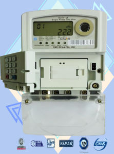 Single Phase Keypad Prepaid/Prepayment Energy Meter with GPRS Module pictures & photos