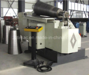 High Efficiency Hydraulic Full Automatic Two Roller Plate Rolling Bending Machine pictures & photos