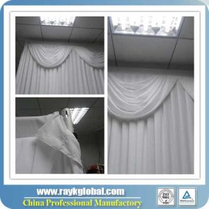 White Drapes for Weddings Used Pipe and Drape for Sale pictures & photos