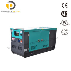 28kw Soundproof Generator Diesel Genset with Isuzu Engine