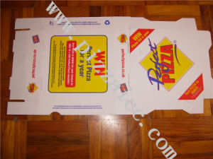 Locking Corners Pizza Box for Stability and Durability (CCB051) pictures & photos