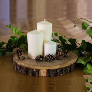 Decorative Lighting Pillar Candle for Morocco with Cheap Price pictures & photos