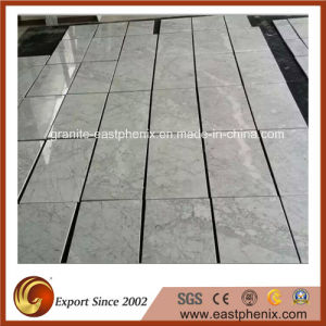 Polished Carrara White Marble Tile pictures & photos