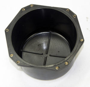 """155*105 (H) - 6.5"""" Rear Cover for PRO Audio Speaker (054D) pictures & photos"""