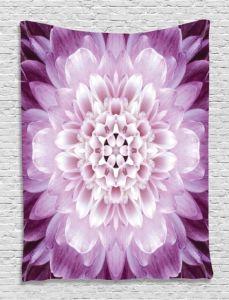 Chiffon Printed Flower Square Beach Towel