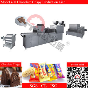 Pillow Type Packing Chocolate Crispy Confectionery Production Line pictures & photos