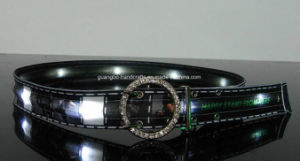 2016 New Flashing / Lighted LED Belt pictures & photos