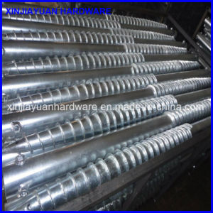 Galvanized Steel Solar Grouns Screw Pile with Factory Price pictures & photos