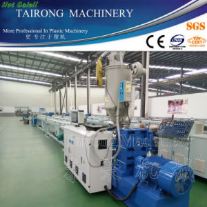 HDPE Pipe Production Line / PP PE Plastic Pipe Extrusion Machine pictures & photos