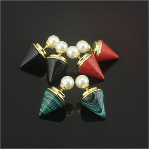 High Quality Ladies and Gold Stud Earrings Fashion Jewelry Earrings (hdx1143) pictures & photos