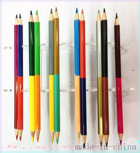 Double Tip Colored Pencil for School Stationery