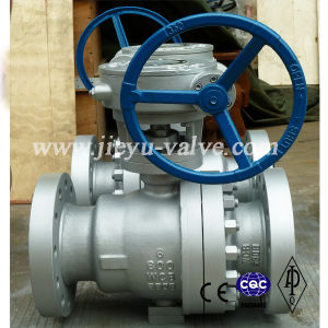 Carbon Steel 600lb Trunnion Mounted Flange Ball Valve pictures & photos