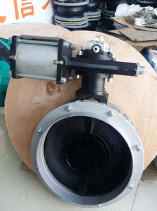 Dn400 Pneumatic Butterfly Valve pictures & photos
