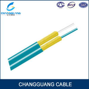LSZH Figure 8 Double Core Fiber Optic Cable Gjfj8V