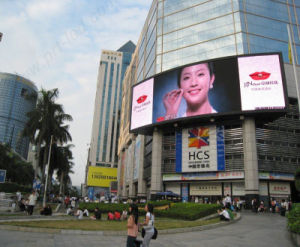 Slim Aluminum P6.25 Curved LED Sign Board for Outdoor Display pictures & photos