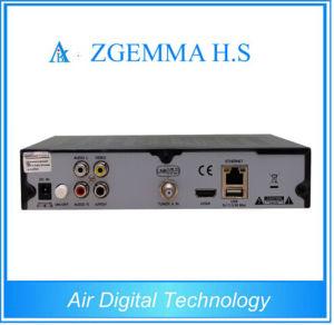 HD Full 1080P Zgemma H. S Single Tuner DVB-S2 Satellite TV Receiver Webtv Internet TV Set Top Box pictures & photos