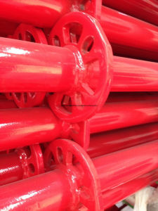 Ringlock Scaffolding Standard Red Powder Coated for Sale pictures & photos
