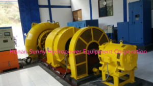 Francis Hydro (Water) -Turbine Hl100 High Vltage 6.3~13.8kv /Hydropower / Hydroturbine pictures & photos