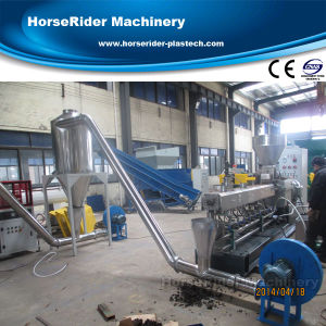 Plastic PE Wood WPC Pelletizing Granulating Machine pictures & photos