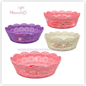 Plastic Fruit Basket, Table Storage Basket, Plastic Storage Basket pictures & photos