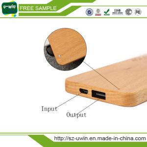 Bamboo / Wooden Portable Power Bank 5200mAh pictures & photos