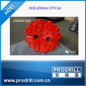 SD8-230mm DTH Button Bits for Oil Drilling pictures & photos