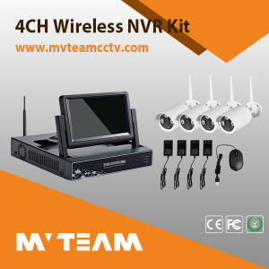 Quick Installation 4CH Wireless CCTV Kit with CE, RoHS, FCC pictures & photos