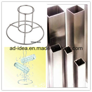 Stainless Steel Table Top Retail Store Display Stand/Display Rack/Banner pictures & photos