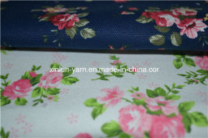 Flower Design Pattern Printed Fabric for Sofa/Chair/Cushion Covering pictures & photos