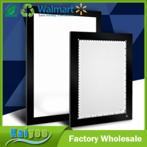 Supper Thin Energy-Saving Crystal Flat LED Light Box pictures & photos