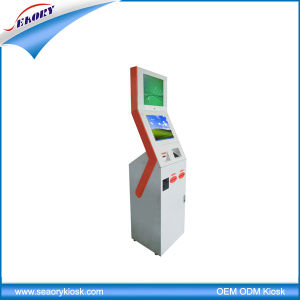 Lobby Standing Dual Touch Screen Self Payment Kiosk pictures & photos