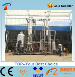 No Chemical Required of Black Diesel Engine Oil and Tyre Oil Regeneration Plant (EOS-5) pictures & photos
