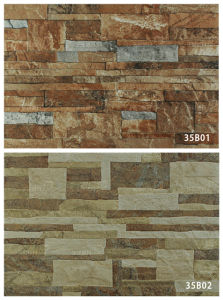 Wholesale Glazed Ceramic Stone Wall Tile for Exterior (333X500mm) pictures & photos