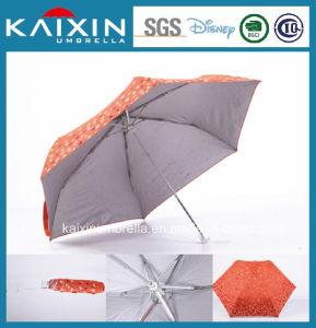 19 Inches Fancy Design 3 Folding Women Umbrella